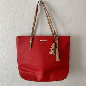 Nine West Red Tote Bag - NWOT